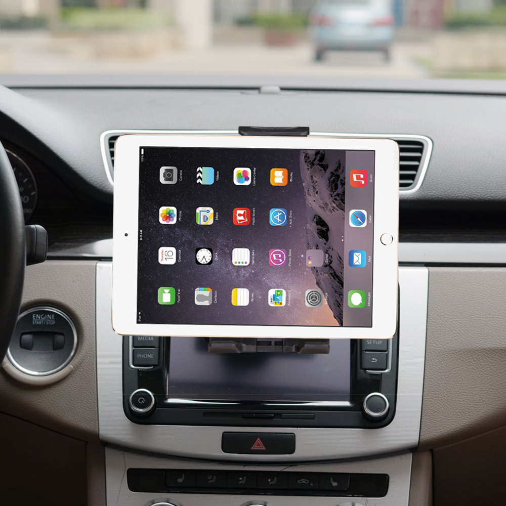 Universal 7 8 9 10 car tablet PC holder Car Auto CD Mount Tablet PC Holder Stand for iPad 2 3 4 5 6 Air 1 2 Tablet Car holder hbt35140100 universal 3 7v 6000mah built in battery for 9 7 10 10 1 tablet pc silver