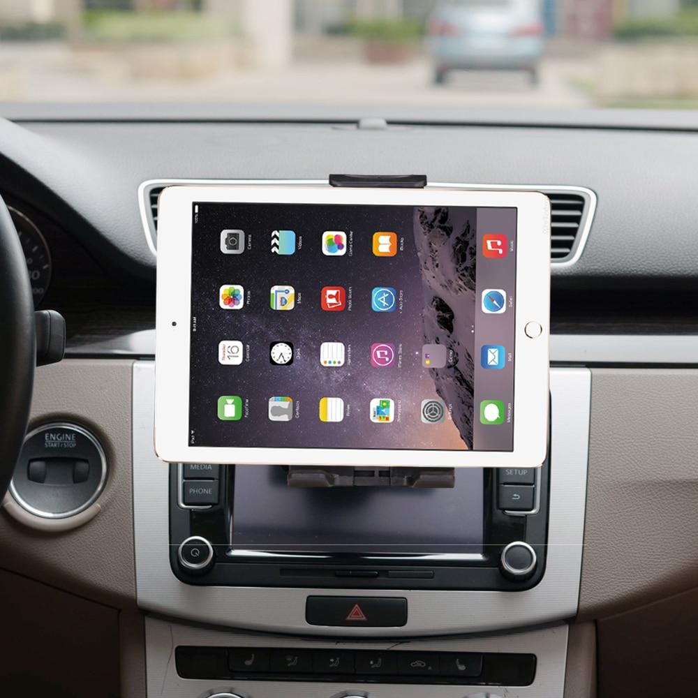 "Universal 7 8 9 10"" car tablet PC holder Car Auto CD Mount Tablet PC Holder Stand for iPad 2 3 4 5 6 Air 1 2 Tablet Car holder"