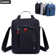Jacodel Casual Small Vertical Square Bag for 12 inch Laptop Messenger Bag for Men Women Shoulder Hangbag for ipad Computer Bags