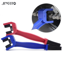 цена на Motorcycle Moto Chain Brush Accessories Kit Part Chain Cleaner For TTR 125 TTR 250 XJR 1300 XMAX 125 XMAX 250 XMAX 300 XSR900