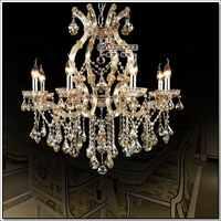 Luminária incandescente adequado para Lâmpada LED lâmpada pendurada Antigo chrystal meerosee lustre de cristal luminária para quarto