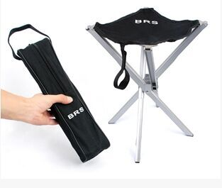 Outdoor Ultra Light Aluminum Alloy Folding Stool Brs Mini