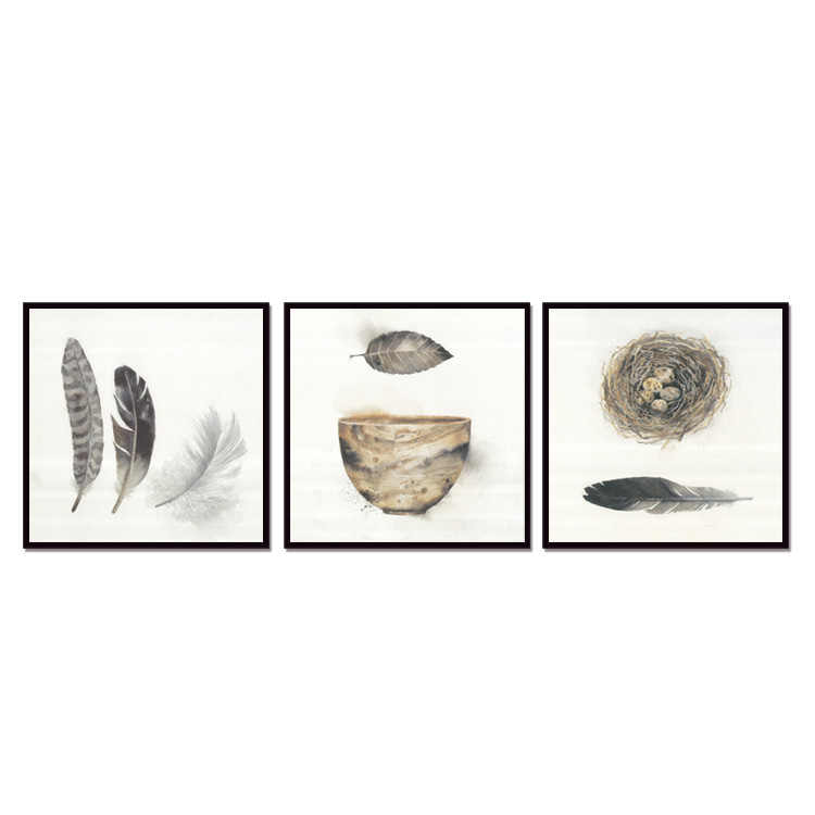 Top Sale poster 3pieces /set Canvas Wall Art Home Decoration Pictures For Living Room (No outside Frame only with inner Frame)