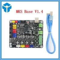 3D Printer part parts MKS Base V1.4 Control Board materinskaya plata Mega 2560 R3 Motherboard RepRap Ramps1.4 Compatible