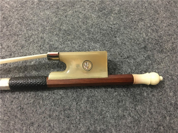 1PCS New brazilwood violin bow. Pisces eye inlay. Ox horn Tail library violin bow. Winding #XG2602