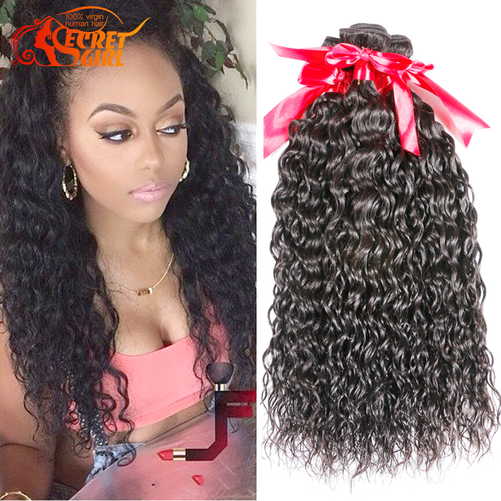 Iwish Hair Brazilian Spanish Curls Human Hair 4 Bundles 7a Brazilian