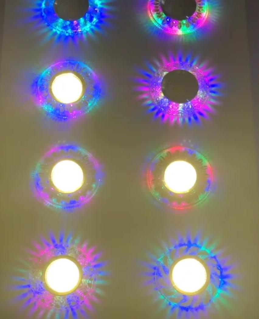 COB Downlight LED Colorido Luz Do Painel