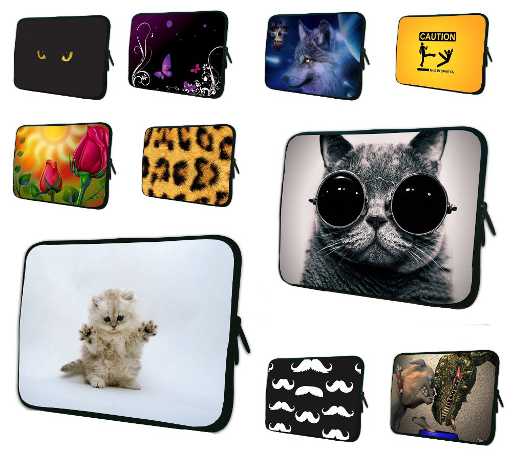 7 8 8.1 10 12 13 14.1 15 17 Laptop Briefcase Notebook Neoprene Shell Case Pouch For Apple iPad 1 2 3 4 Xiaomi Chuwi Tablet Bags
