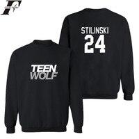 Men Autumn European Style Fashion Casual Mens Teen Wolf Sweatshirt Man Fleece Hoodies Sweatshirt Teen