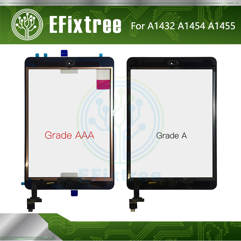 Front Panel Touch Screen Glass Digitizer for iPad Mini 2 2nd Gen IC Chip White