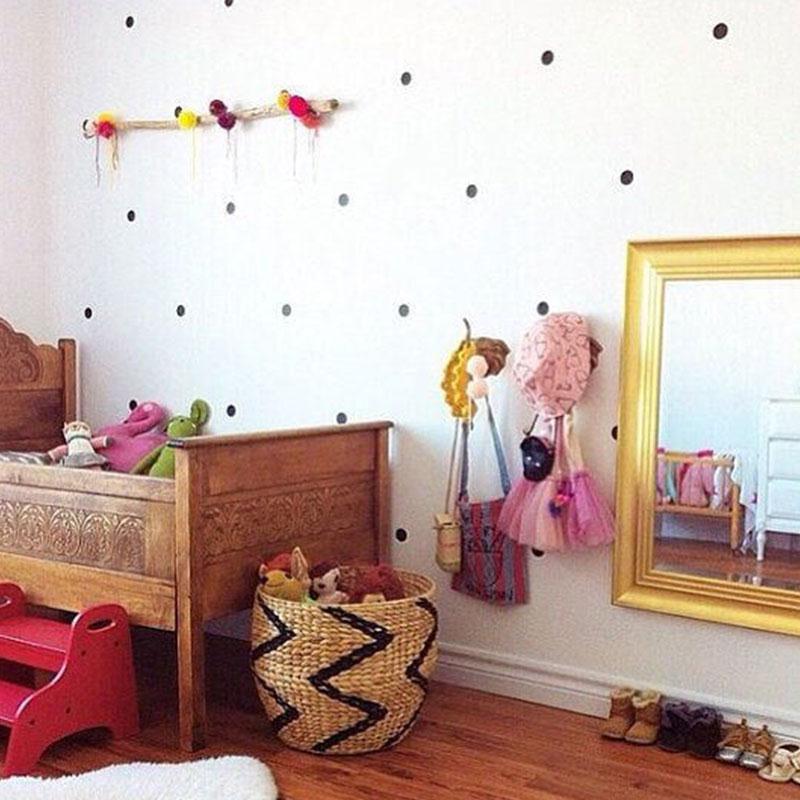 soledi 357 cm 542035 stks kids scandinavische stijl golden stippen sub slaapkamer art decor muursticker home beschrijving voor kid in soledi 357 cm