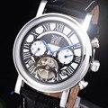 Jaragar Casual Watch Men montre homme Business Design Genuine Leather Top Luxury Clock Automatic Mechanical Watches Calendar