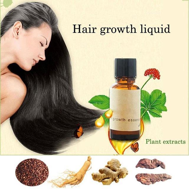 2017 Hot ! Hair 20ml dense hair fast sunburst hair growth grow Restoration pilatory Growth Essence Hair Loss Liquid
