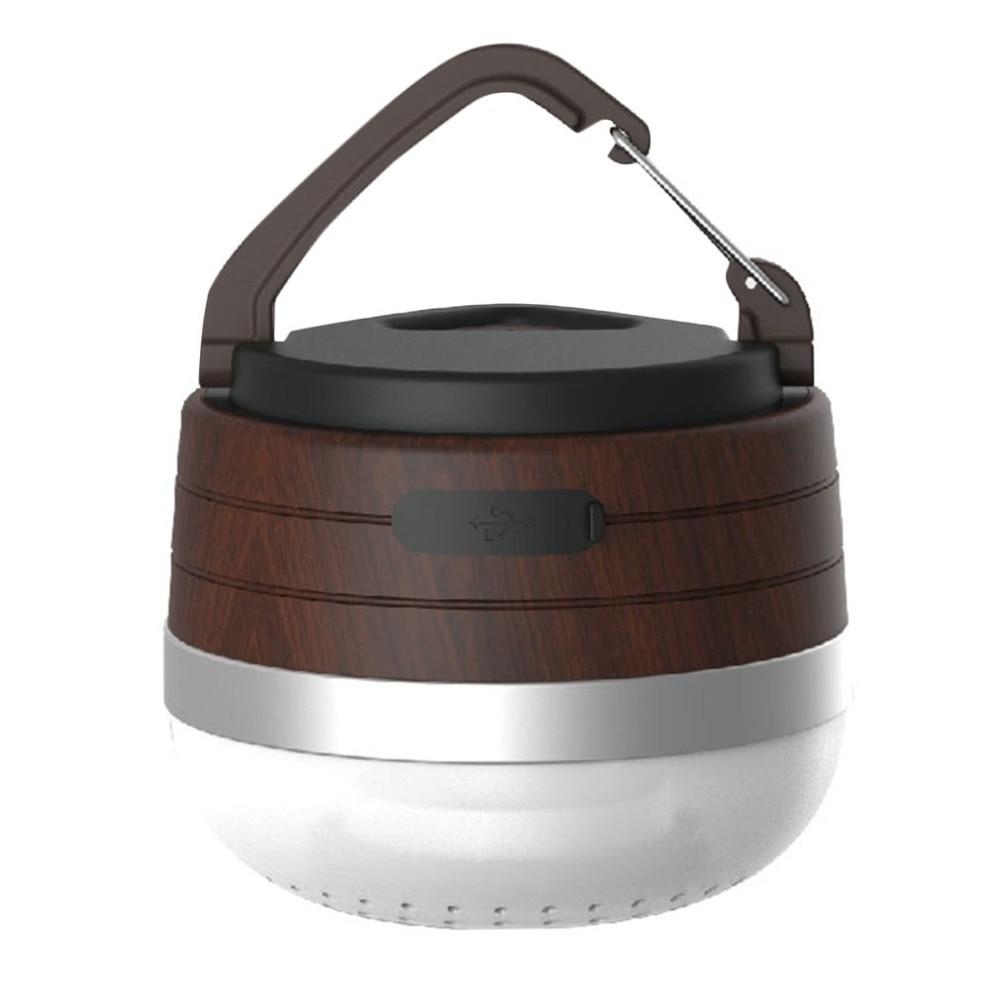 Wooden Bluetooth Speaker Camping Light Mini MultiFunctional Emergency Light Outdoor Tent Lamp Music Player outdoor multifunctional tent fixed clamp