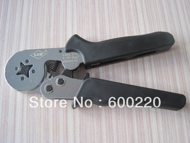LSC8-6-4 self-adjusting crimping tool pliers for cable end ferrules 0.25-6mm2