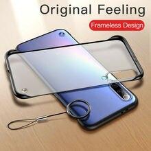Frameless-Case Back-Cover Hard Transparent Xiaomi Redmi Note-9s 9-Lite Mi-10 for 8T 8-pro/7a/8a/..