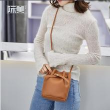 купить Spring  new I fashion bucket bag trend shoulder Messenger bag women's bag free shipping по цене 1694.83 рублей