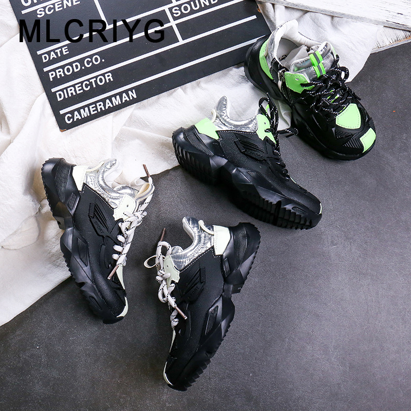 Autumn Kids Sport Sneakers Children Black Shoes Baby Girls Mesh Casual Sneakers Boys Brand Chunky Sneakers Fashion Trainers