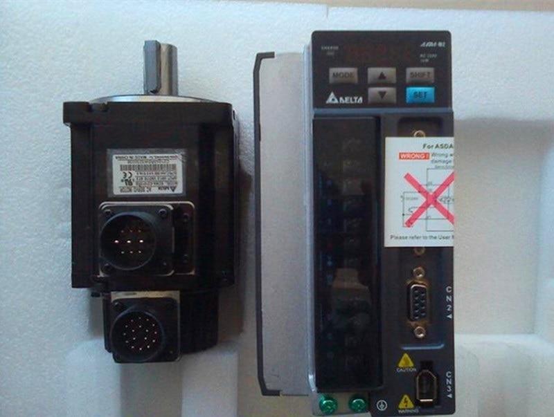 ECMA-E11310SS+ASD-A2-1021-M DELTA brake CANopen AC servo motor driver kits 1.0kw 2000rpm 4.77Nm 130mm frame