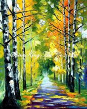 palette knife oil painting  modern oil painting canvas oil painting  K107