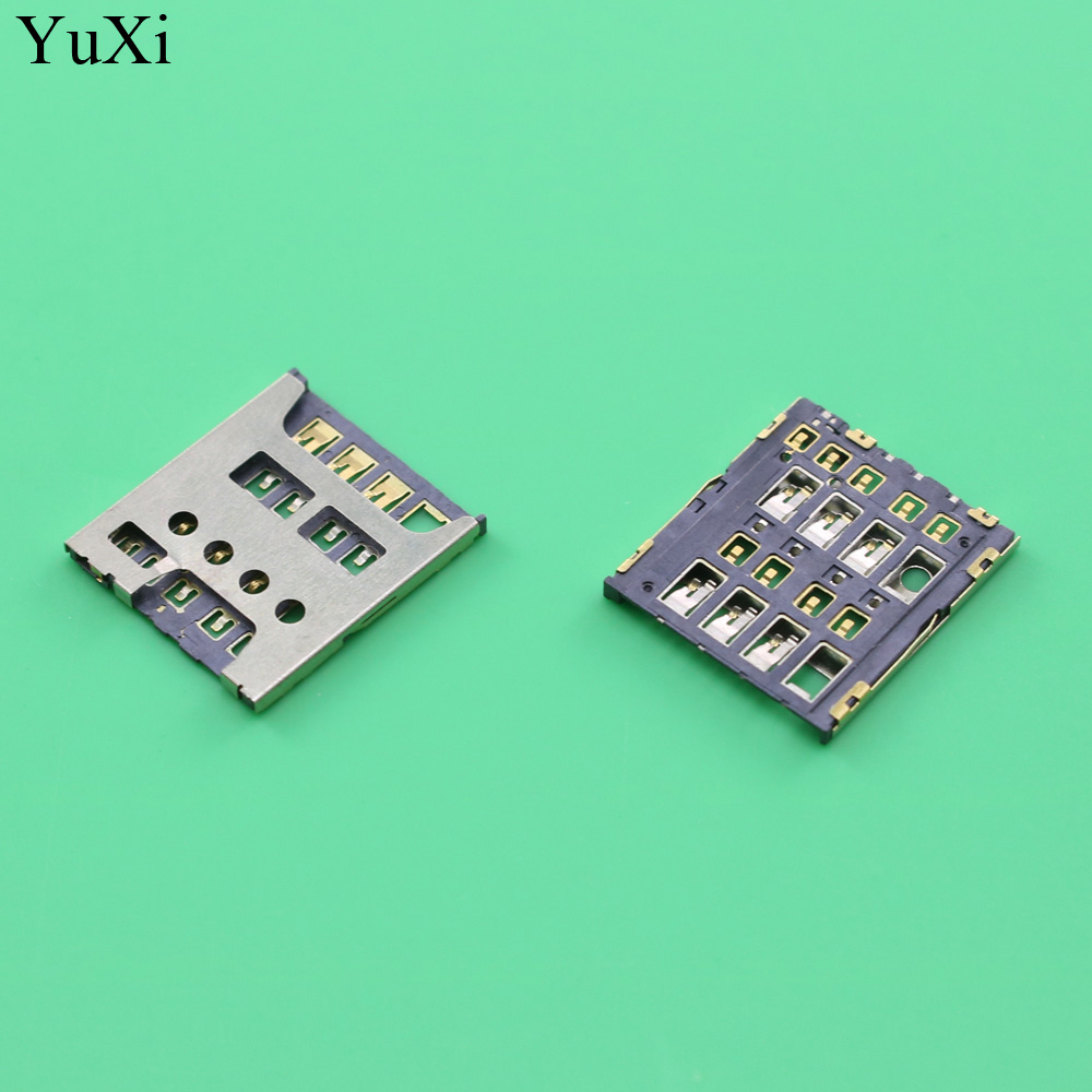 YuXi Sim card socket slot tray reader holder module For Sony Ericsson Xperia SP M35H C5302 C5303 E3 D2202 D2203 D2206 D2212