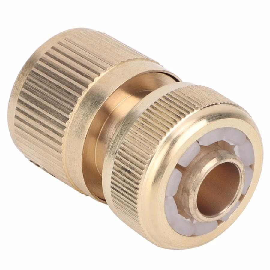 "Hose 1/2"" Quick Connection Hose Connector Water Pipe Adapter For Home Garden lead pistol"
