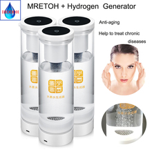 Hydrogen and oxygen separation Hydrogen rich generator water and MRETOH  Reducing blood viscosity Improve sleep H2 water cup