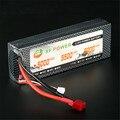 Hot XF Poder 7.4 V 5000 mAh 2 S 30C Hardcase Pack Para RC Batería Lipo Enchufe T
