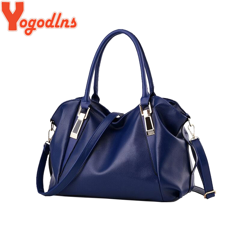 Yogodlns Designer Women Torebka damska PU skórzane torby