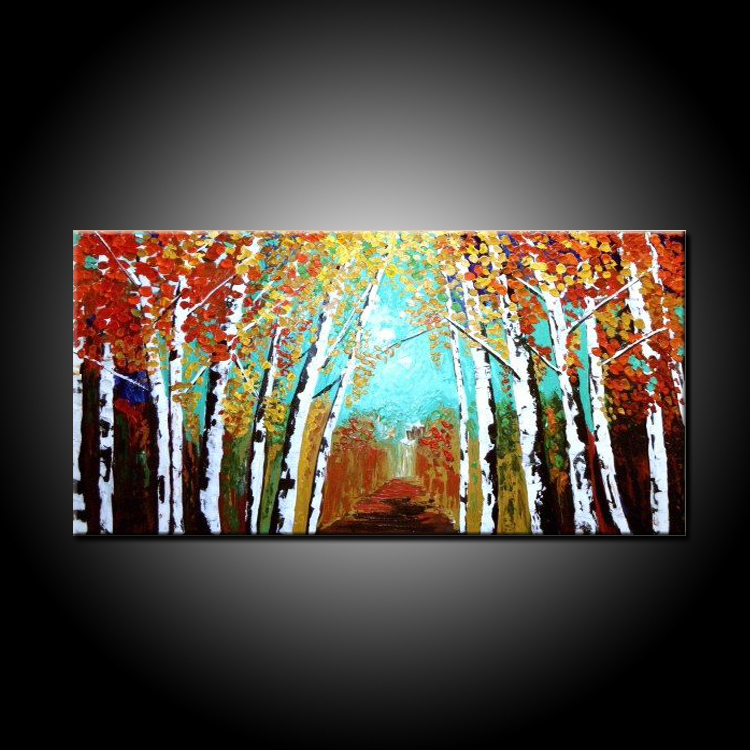 Experienced Painter 100%Handmade High Quality Abstract Trees Painting On Canvas Hand Painted Abstract Wall Knife Oil PaintingsExperienced Painter 100%Handmade High Quality Abstract Trees Painting On Canvas Hand Painted Abstract Wall Knife Oil Paintings