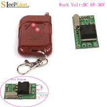 Module de Test 6 V-36 V 24V 12V Micro interrupteur télécommande Mini petit récepteur alimentation LED ON OFF 6 V-36 V Enginner(China)
