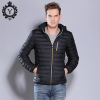 COUTUDI Fashion Warm Winter Jackets Men 2018 Short Men S Coat With Hood Cotton Padded Bomber