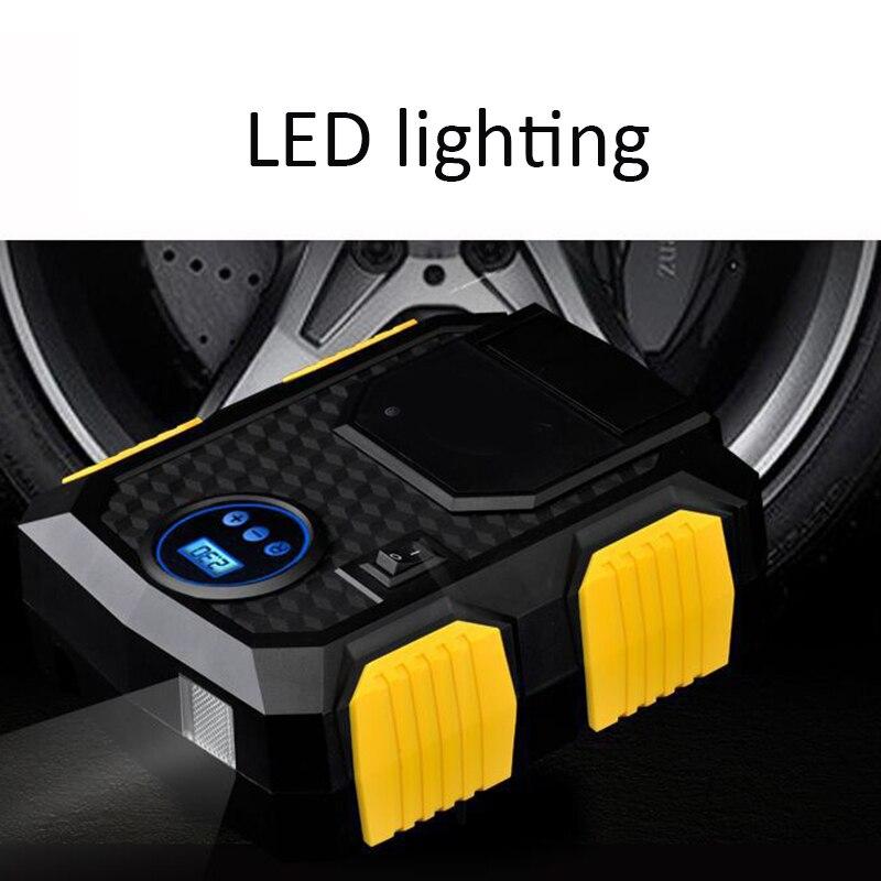 Car Digital Tire Inflator Mini Compresor 12v With Led light Air Compressor Pump 150 PSI Car Air Compressor for Automobiles