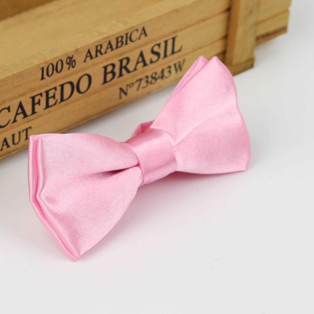 Детский Модный деловой классический однотонный костюм с бабочкой для свадебной вечеринки, Детский костюм, смокинг, галстук-бабочка для домашних питомцев - Цвет: 8