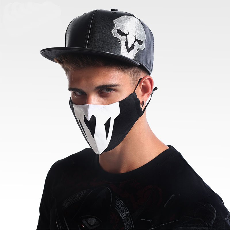 Cool Blizzard Watch Over Soldier 76 Reaper Hat Men Boy OW Hero Black Blue Adjustable Embroidery Baseball Caps