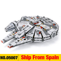 Force Awakens Star Set Wars Series Compatible with 75105 Millennium toys Falcon Figures Model Building Blocks Toys For Children