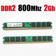 2 gb ddr2 800 mhz bureau ddr2 ram/PC2-6400 memroy/ddr 2 2 gb 2G 2 gb (pour AMD pour intel carte mère) garantie à vie