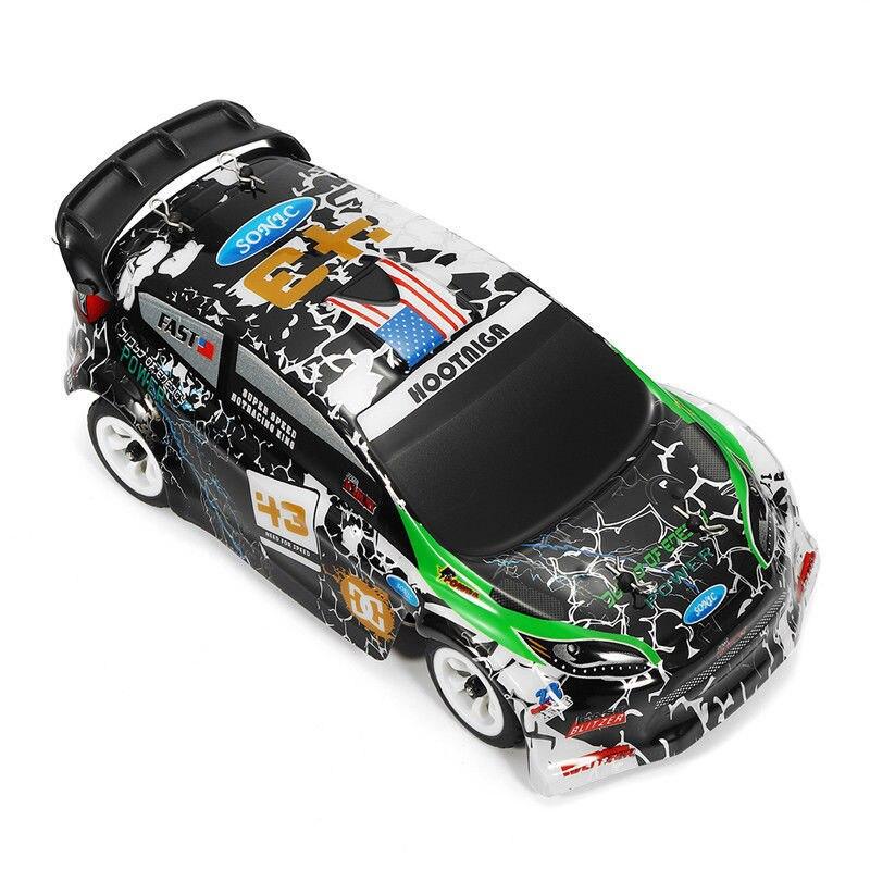 Wltoys K989 1:28 RC Voiture 2.4G 4WD moteur brossé 30 KM/H haute vitesse RTR RC dérive Voiture alliage télécommande Voiture Telecommande - 3
