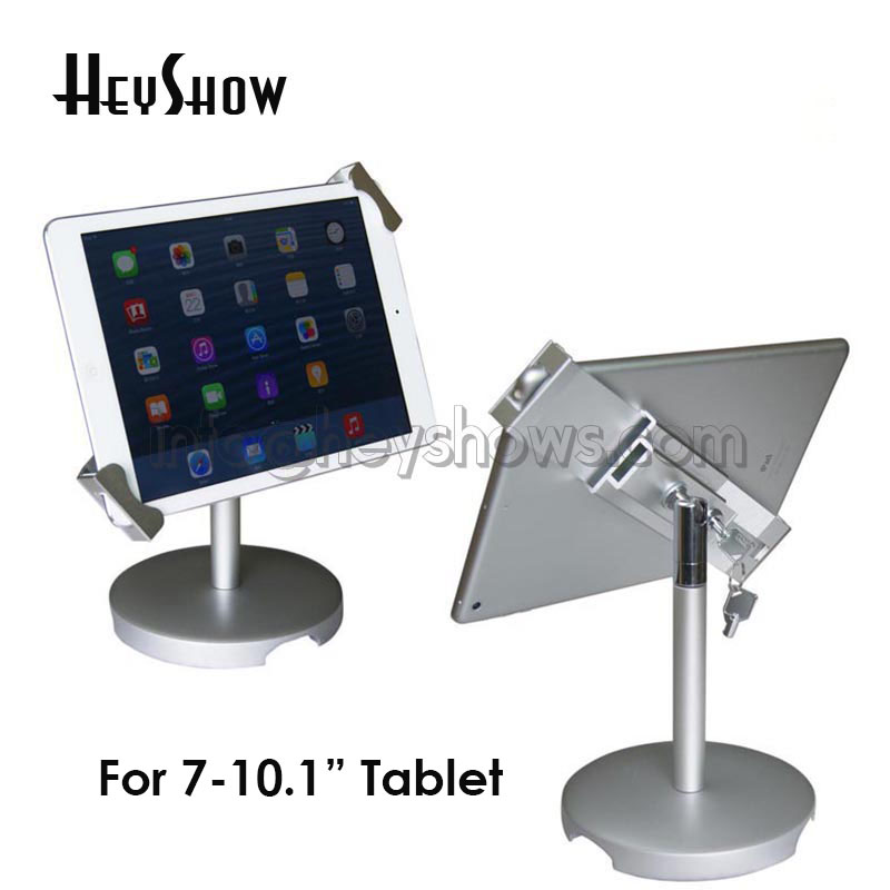 Flexible Ipad display stand mount rotationTablet  PC holder clamp safe Samsung tablet lock enclosure lock  for 7-10.1  tabletFlexible Ipad display stand mount rotationTablet  PC holder clamp safe Samsung tablet lock enclosure lock  for 7-10.1  tablet