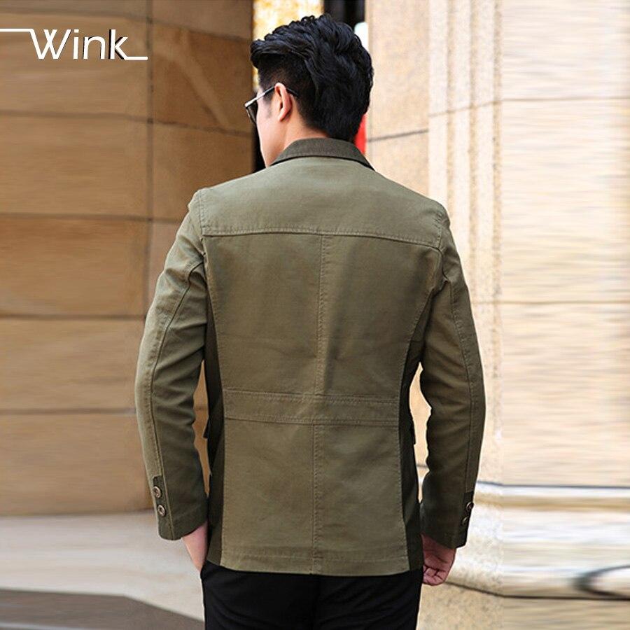 Men Business Blazer Suit High Quality Slim Fit Cotton Fashion Suit Jackets Brand Design Solid Color Jackets SL-E255