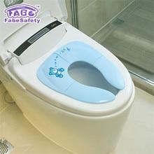 Baby Travel Folding Potty Seat Potties & Seats Toilet Training  Children Auxiliary Toilet Portable Baby Toilet Seat Chair Pad