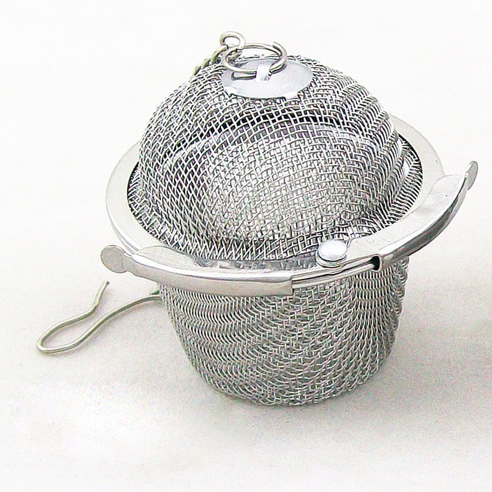 Hot Selling Practical Tea Ball Spice Strainer Mesh Infuser  Filter Stainless Steel Herbal #6302