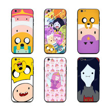 princess maker Adventure Time phone cases Black covers for iPhone X 6 6s 7 8 plus 5 5s se for Apple best High Quality Housing(China)