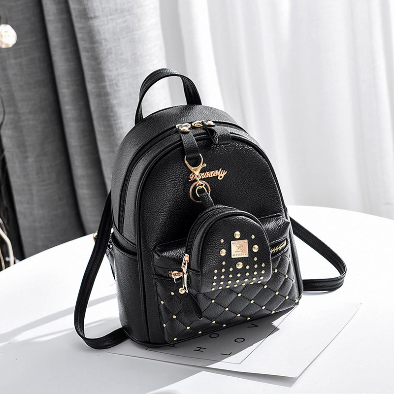 Shoulder Bag Package 2018 New Style Influx of Women Backpack Spring New Style Students Fashion Leisure Korean-Style Bags & Shoes