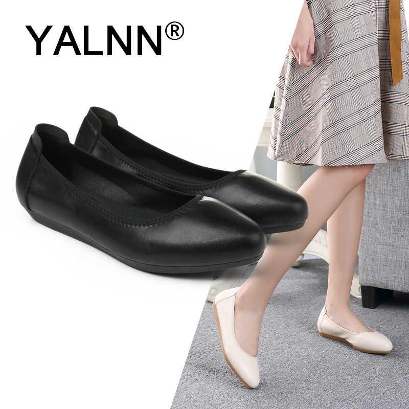 Women Flats Shoes Leather 1.5cm//3cm//5cm Heels Women Flats Platform Shoes