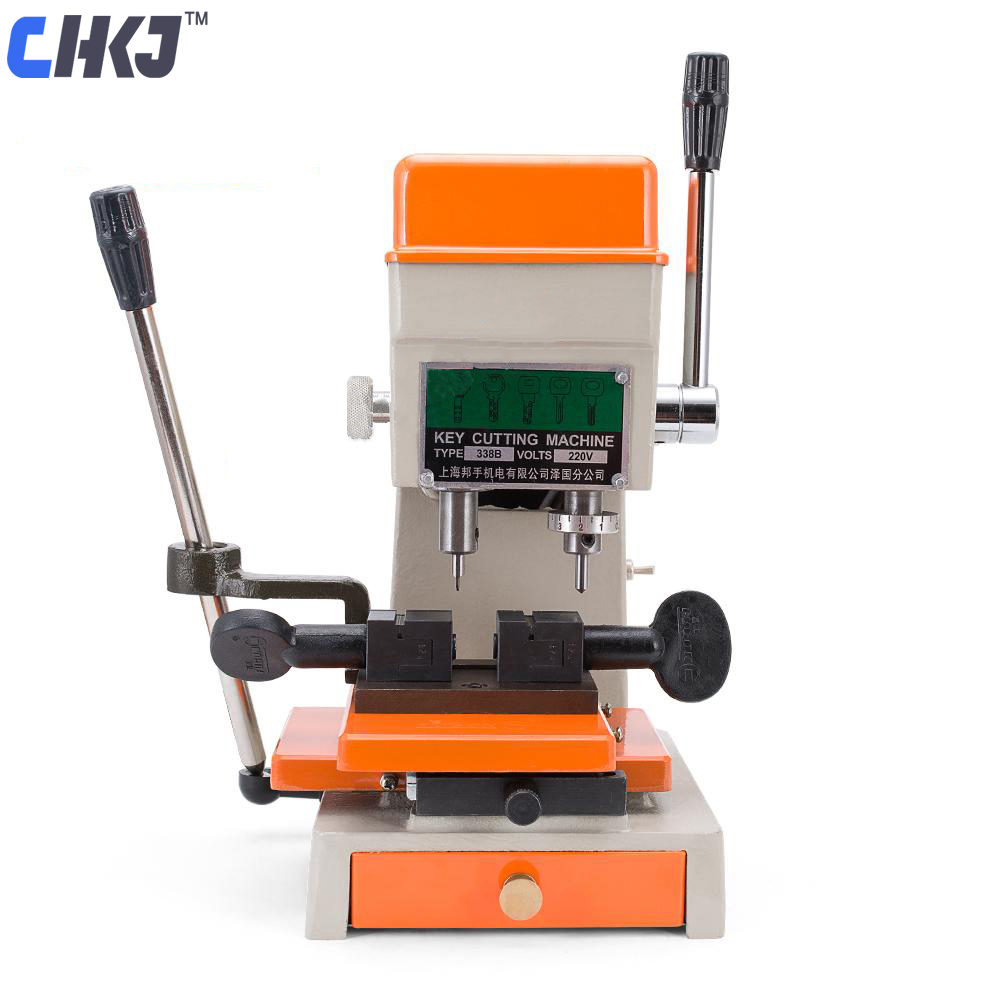 CHKJ Goso 338B Automatic Key Cutting Machine Car Door Key Cutting Copy Machine Making Keys Locksmith Tool Key Cutter Machine prince lestat