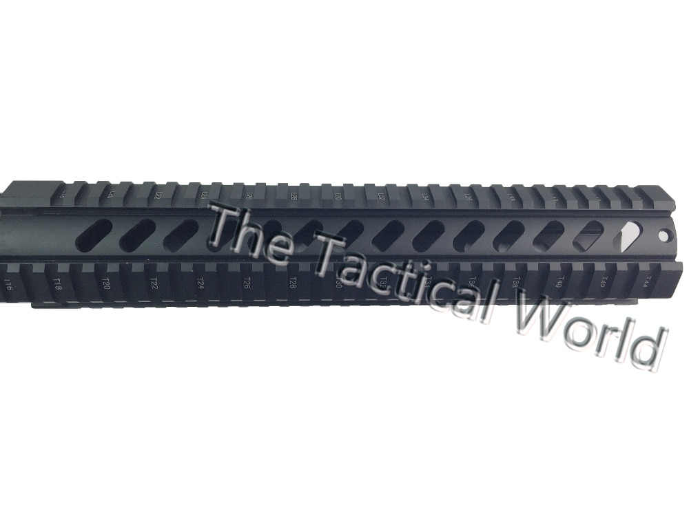 Tactical Hunting AR-15 M4 M16 Handguard Rifles12 Inch Free Float Quad T-Series Picatinny Weaver Rail for RAS Carbine Airsoft