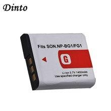 Dinto, 1 шт., 1400 мА/ч, фонарь NPBG1, NP BG1, фонарь NPFG1, NP FG1, запасной аккумулятор для камеры Sony DSC, H3, H5, H7, W70, W80, WX1