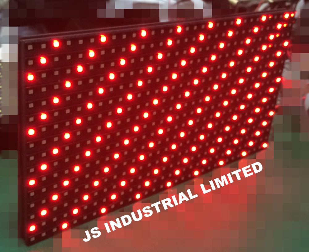 P10 Outdoor SMD Single Red Color Led Panel Display Module