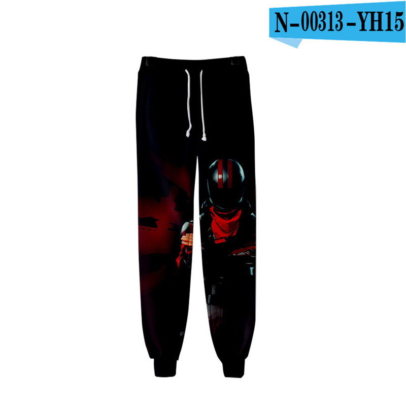 3D Print Pants Fornit Slacks Pants Battle Royale Clothes Causal Game Clothes Battle Royale Clothings Royal Clothings Kid Clothes